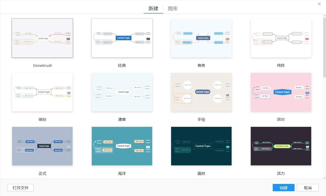 全新思维导图 XMind 2021 11.0 Beta 2 完美版-第3张图片-分享者 - 优质精品软件、互联网资源分享