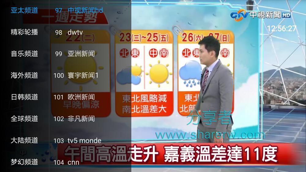更新密码 环球电视 超多海外频道 附密码解锁福-第1张图片-分享者 - 优质精品软件、互联网资源分享