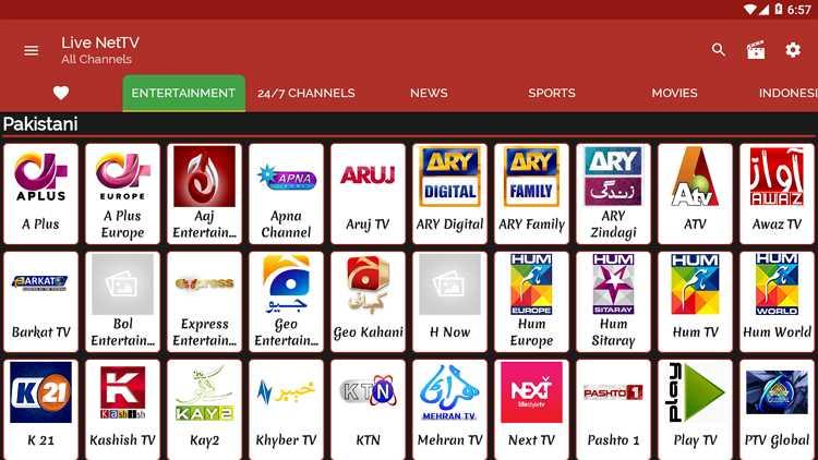 Live NetTV 国外开发 手机/电视通用的直播-第2张图片-分享者 - 优质精品软件、互联网资源分享
