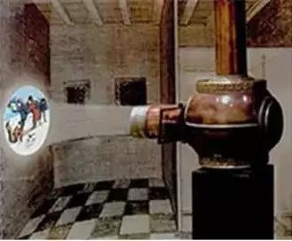 冷知识 | 历史上第一台投影仪长啥样?